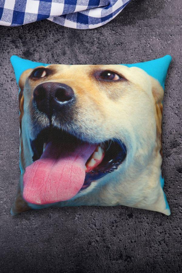 Labrador Retriever Spun Polyester Square Pillow
