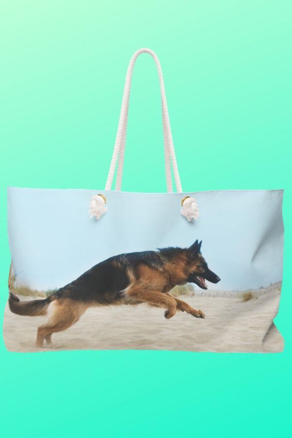 German Shepherd Weekender Bag