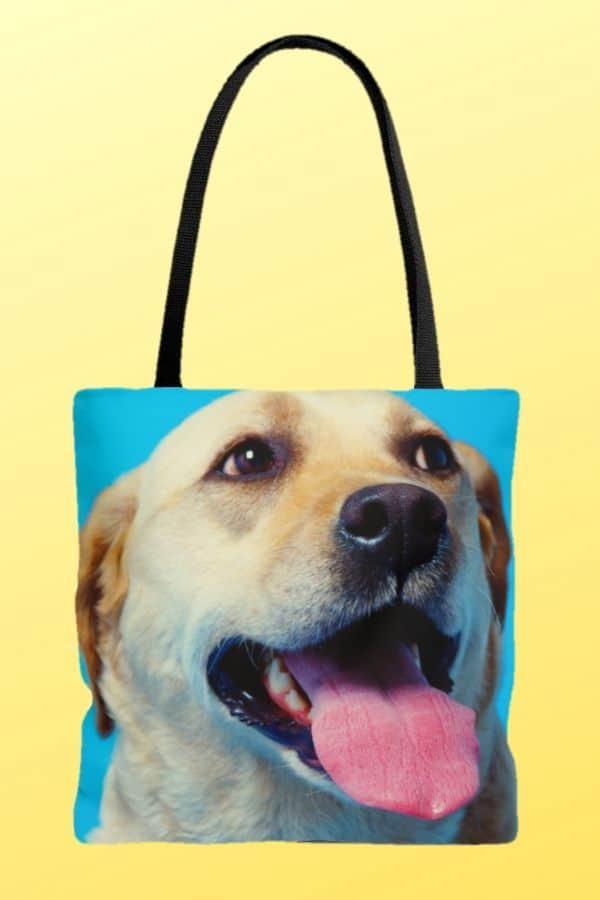 Labrador Retriever AOP Tote Bag